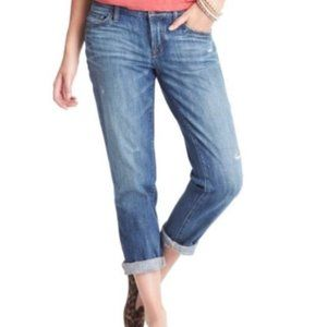 LOFT Lightwash Boyfriend Jeans Sz 27